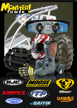 Parts and Accessories for ATV, Motorcycle, Snowmobile, PWC and Watercraft